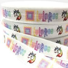 elastic ribbon by the yard 2018 100 yard 5 8 high quality lularoe print fold elastic