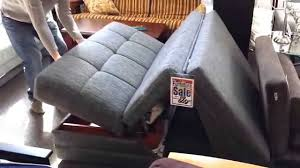 twist loveseat sleeper opening and closing youtube