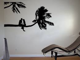 Bedroom Wall Stickers Uk Palm Tree Wall Decals Uk Color The Walls Of Your House