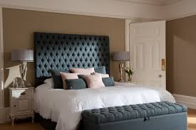Bedroom Furniture Chesterfield Diamond Tufted Chesterfield Style Headboard And Matching Storage