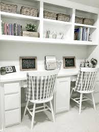 Built In Desk Ideas Interesting Built In Study Desk Ideas With Built In Desk Design