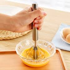 blender cuisine 120pcs stainless steel manual self turning whisk easy blender and