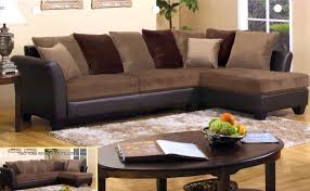 Chocolate Brown Sectional Sofa With Chaise Sofa Beds Design Extraordinary Modern Chocolate Brown Sectional