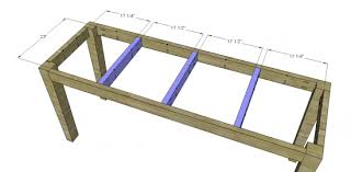 Wood Table Plans Free by Boulangerie Bar Table Woodworking Plans Woodshop Plans