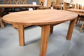 Large Oak Kitchen Table by Round Dining Table Extending Round Oval Dining Table