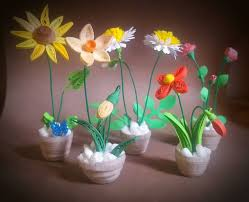 Flower Pots - 41 best flower pots images on pinterest quilling 3d flower pots