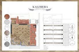 my projects kalimera greek restaurant the anatomy of design