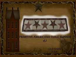 Star Table Second Life Marketplace Old Barn Door Primitive Americana Star