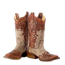 Cheap Womens Square Toe Cowboy Boots Boots Image