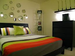 bedroom epic black green bedroom decoration using furry light