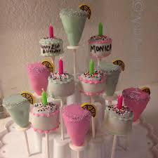 birthday cake pops cake cocktails 21st birthday cake pops margarita cake pops
