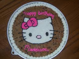 hello kitty cookie cake cakecentral com