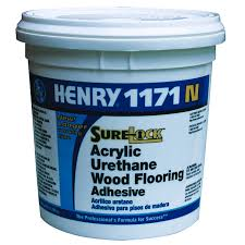 Floorregisters N Vents by Henry 1gal Acrylic Urethane Wood Flooring Adhesive 12235