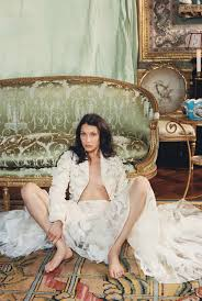W by Bella Hadid Is A Lady In Waiting In Haute Couture Photos W Magazine