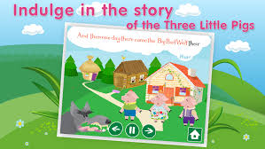 pigs app review interactive bedtime story book