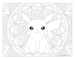 free printable pokemon coloring page pikachu visit our page for