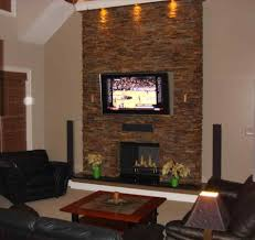 ocala finish fabricated faux stone corner fireplace stone veneer