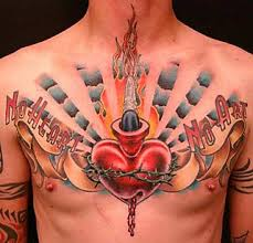 rod car tattoos chest designs for