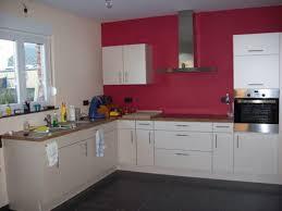 cuisine blanche ouverte sur salon cuisine couleur peinture collection et idee mur deco meuble blanc