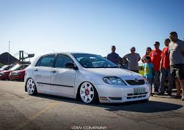 stanced toyota corolla stance low company