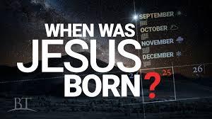 when was jesus born united church of god