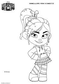wreck it ralph vanellope coloring pages paginone biz