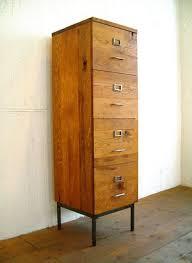 Vintage Oak Filing Cabinet Best 25 Vintage File Cabinet Ideas On Pinterest Industry