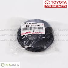 lexus tacoma parts genuine toyota tacoma 4runner front hub grease cap oem 43514 28010