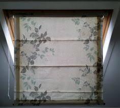 How To Repair Velux Blinds Roman Blind At Velux Window Ventanas Pinterest Roman Blinds
