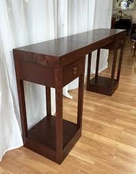 Mahogany Console Table Mahogany Console Table By Johan Tapp For Gump S Past