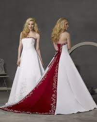 Cheap Gothic Snow White Costume Aliexpress Aliexpress Buy Cheap Red White Wedding Dresses Strapless