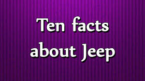 lilac jeep ten facts about jeep all about facts utubetips youtube