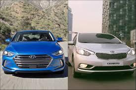 hyundai elantra vs 2017 hyundai elantra vs 2017 kia cerato sedan