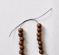 diy wood u0026 stone bead bracelets made in a day