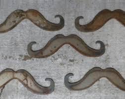 metal mustache etsy