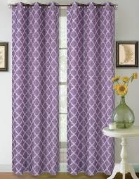 22 two tone geometric 1 panel lilac lavender white thermal foam