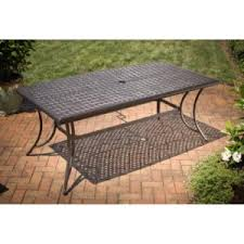Agio Patio Table Agio 7 Patio Dining Set Heritage Collection Review