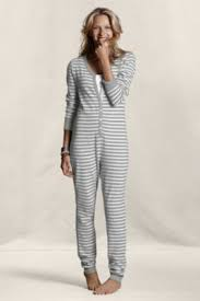 lands end christmas women s thermal union suit pajamas from lands end canvas i ll