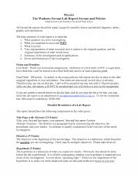 formal lab report template formal lab report template 4 best and professional templates
