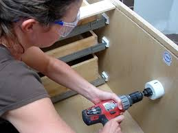 Install A Bathroom Vanity by How To Install A Vanity And Storage Cabinets How Tos Diy