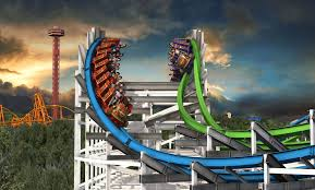 Six Flags Magic Mountain Fire Six Flags Twisted Colossus Pov New For 2015 Magic Mountain Roller
