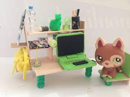 Designer Desk Accessories by Lps Diy Computer Desk Youtube Arafen