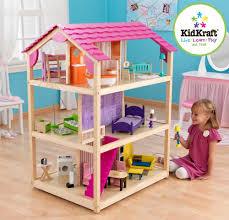 Dolls House Furniture Sets Kidkraft So Chic Dollhouse Mansion House W 50 Pc Furniture Set