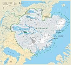 Alaska On Map Photo Gallery U S National Park Service