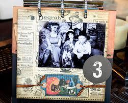 halloween mini scrapbook album u0026 halloween countdown calendar