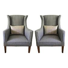 Wingback Chairs For Sale Furniture Houndstooth Chair Wing Back Dining Chair Large