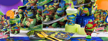 tmnt wrapping paper mutant turtles party supplies party delights