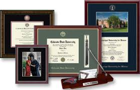 degree frames give a memorable diploma frame with church hill classics