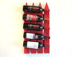vertical wine rack etsy