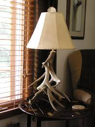 table lamps antler lamp deer table lamps crafts and home